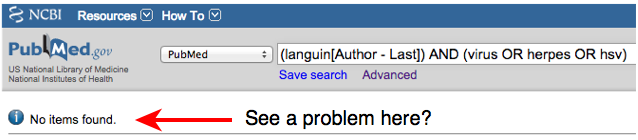 Nobody named Languin has ever published any research in regard to herpes, hsv or viruses.
